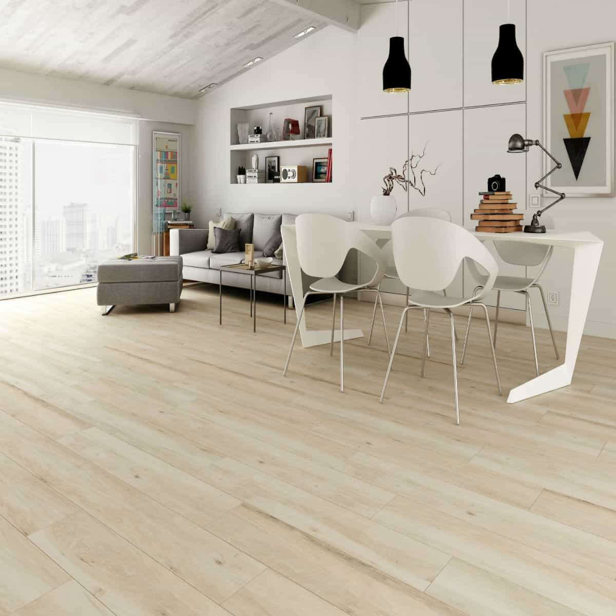 Atelier beige right price tiles - Suelo imitacion parquet ...